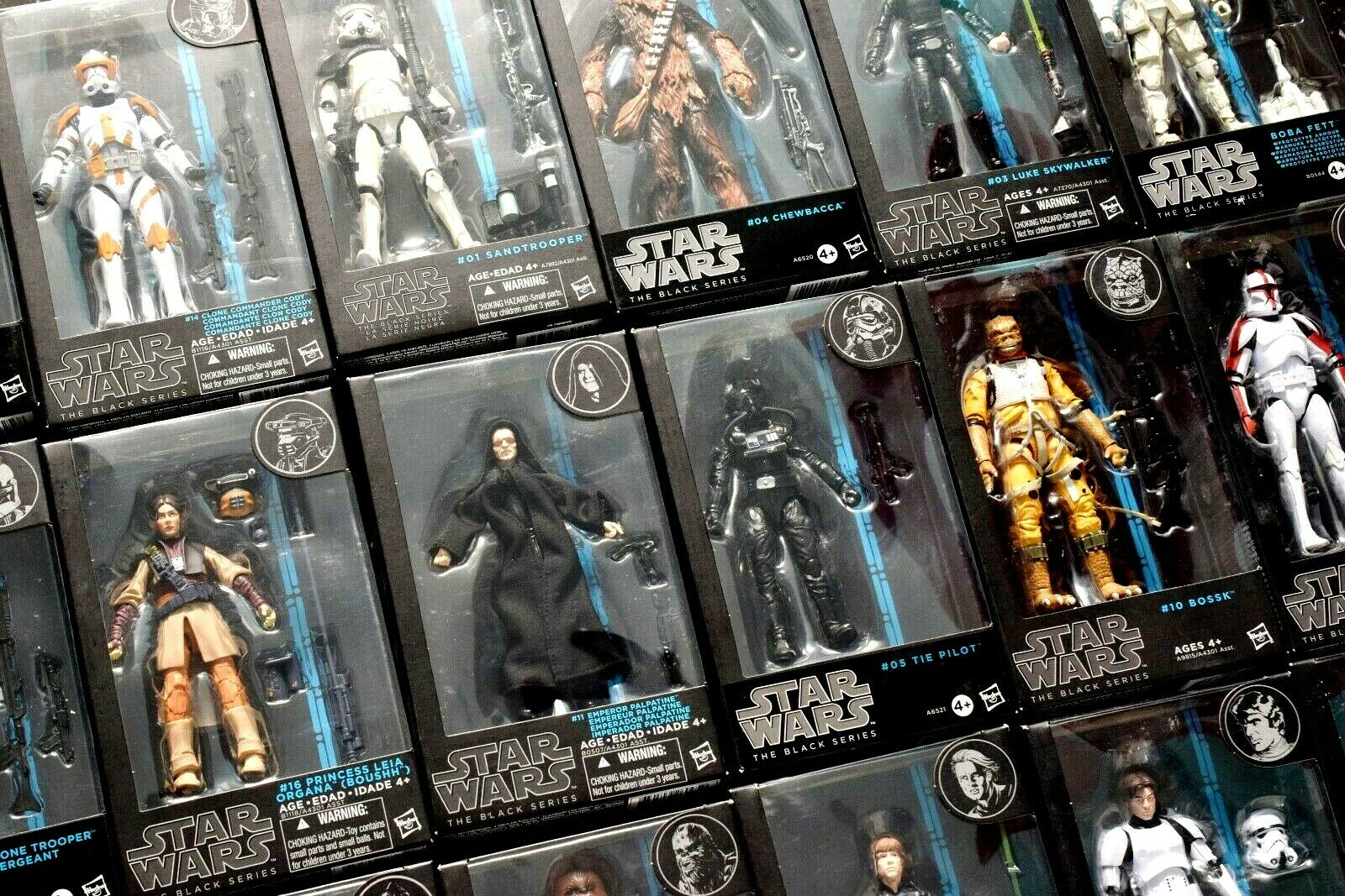 Star Wars B bluee Streifen 15.2cm blacke Serie Figuren - Alle Misb