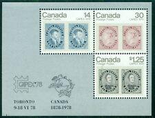 CANADA SCOTT # 756a CAPEX 1978 SOUVENIR SHEET, MINT, OG, NH, GREAT PRICE!