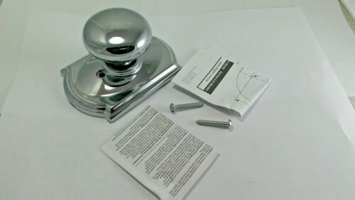 Schlage F170PLY625CAM  Polished Chrome Single Dummy Plymouth Door Knob Lot of 2