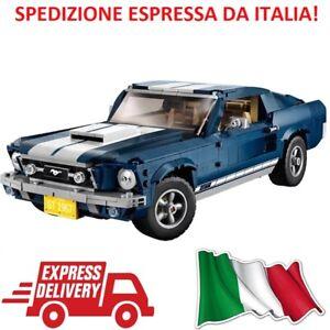 CREATOR-Ford-Mustang-GT-1960-compatibile-Lego-10265-1471-pezzi-Gia-in-ITALIA