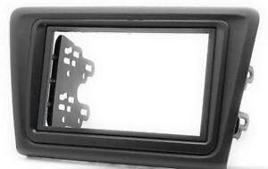 SKODA Fabia 2  5J Auto Radio Blende Einbau Rahmen Doppel-DIN 2-DIN