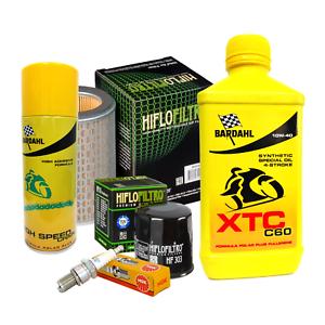 Tagliando-Bardahl-XTC-10W40-filtro-olio-aria-candele-spray-CB-F-Hornet-600-039-98