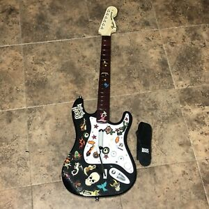 Wireless Rock Band Model NWGTS2 Fender Stratocaster-NO Dongle- Untested Harmonix