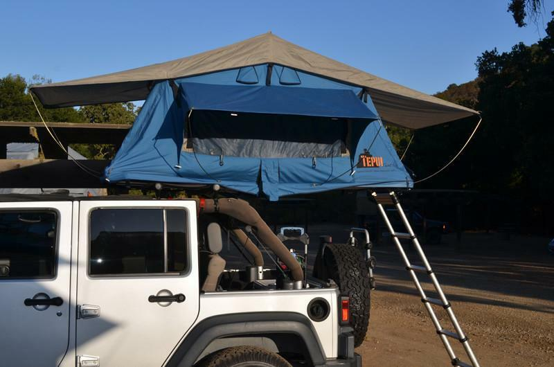 Tepui Ayer Sky Top Roof Top Sky Tent Blau 4-Season Overlander Camping Off-Road 2-Person c0df2c