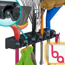 Tool Hanger Garage Wall Hook Rack Organizer Holder Shovels Garden Broom  Utility