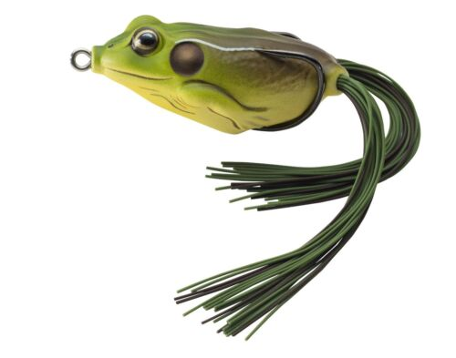 """NEW Koppers Hollow Body Frog Floating 2-5//8/"""" Green//Brown FGH65T508"""