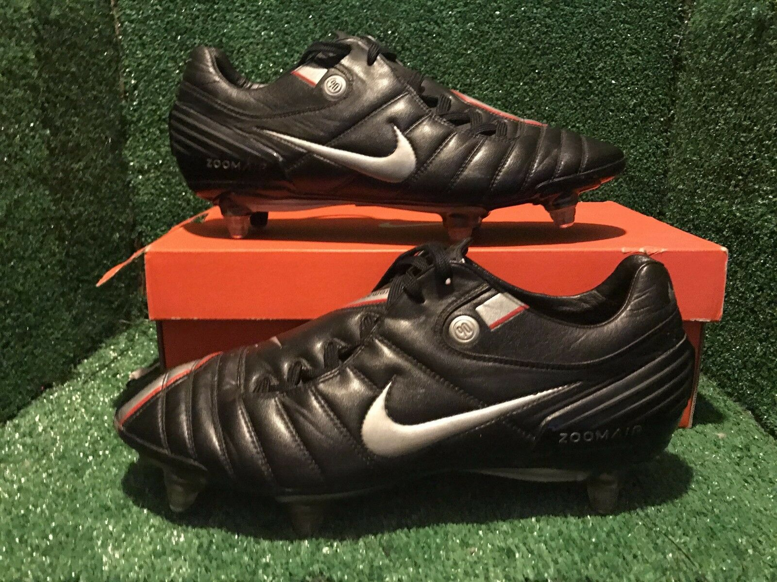 NIKE AIR ZOOM TOTAL 90 AZT SG STRIKE  FOOTBALL CLEATS 10 9 44