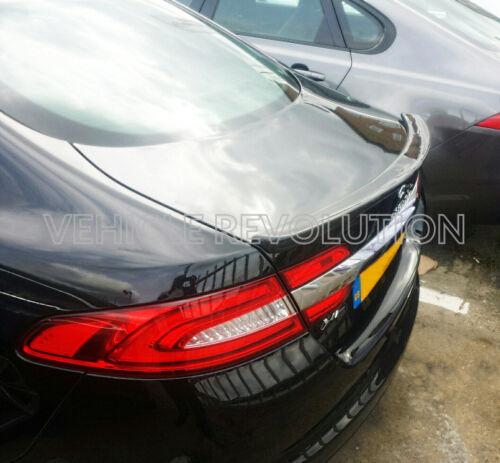 Jaguar XF X250 fibre de carbone noir brillant Coffre Arrière Coffre Aile Spoiler 08-15