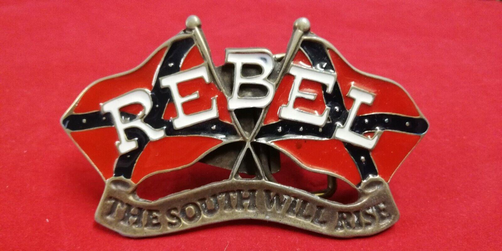 Neu Gürtelschnalle Rebel Buckle Bürgerkrieg USA Federration Südstaaten Belt Top