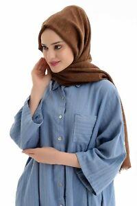 Premium-coton-viscose-hijab-echarpe-chale-Islam-Musulman