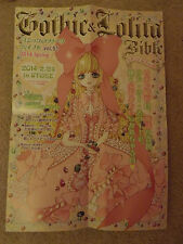 A2 size Gothic and Lolita Bible Japanese fashion poster Vol 51 . Rare!