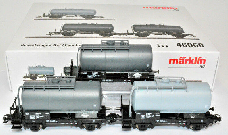 Märklin 46068 vagones set 3tlg. Minol mineralölwagen Dr EP. IV nuevo & OVP mhi