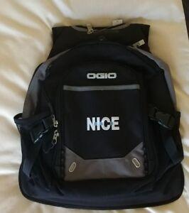 Details About Ogio Fugitive Computer Bag Audio Pocket Techspecs Street Back Pack Black Gray