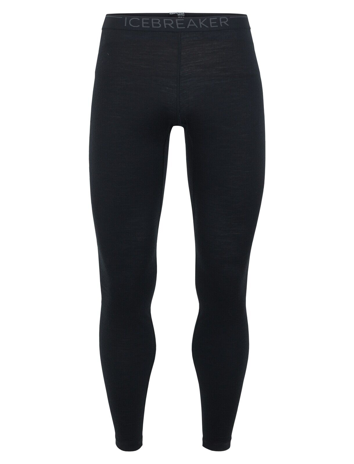 Icebreaker oasis leggings Men función pantalones calzoncillos caballero negro