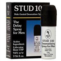 Stud 100 Male Genital Desentizer Spray Prolong Sexual Stamina