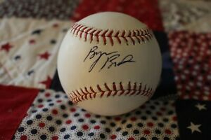 Byron Buxton Signed Baseball Minnesota Twins MLB Hologram COA Gold Glove