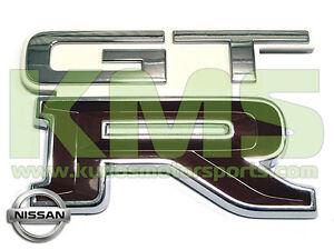 Boot-Lid-Badge-034-GTR-034-to-Suit-Nissan-Skyline-R32-GTR-326-Crystal-White