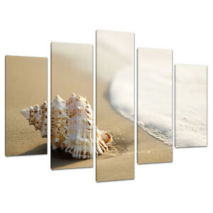 5-Panel-Wall-Art-Beach-Canvas-Pictures-Bathroom-Bedroom-Prints-5146