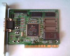 PCI Video card Alliance 312-211581-000-A 20517-03501 GX128 011586 VGA