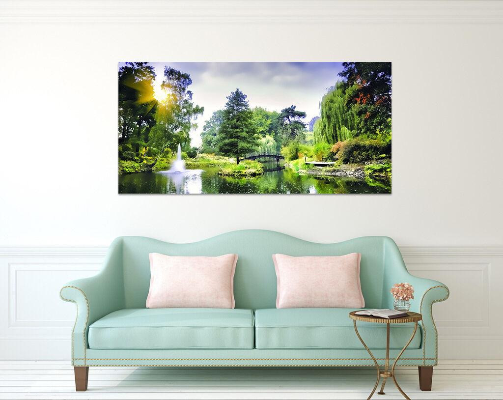 3D Landschaft Brunnen Baum 754 Fototapeten Wandbild BildTapete AJSTORE DE Lemon