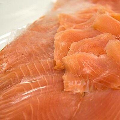Schottischer Räucherlachs Lachs ganze Seite geschnitten ca.1.000g