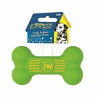 Jw Pet Company Isqueak Bone Rubber Dog Toy Small Free Shipping