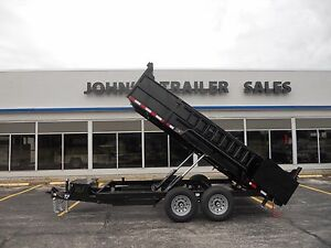 Brand new 2018 83 x 14 dump trailer 14000 gvwr quality brand new 2018 83 x 14 dump trailer 14000 gvwr quality steel skid jacks ebay sciox Image collections