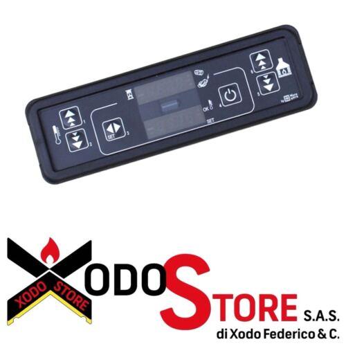Tastiera display LED Micronova C025 7 led 2 righe 4 digit 160x50x23 mm 14710014