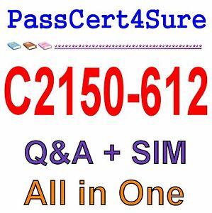 IBM Best Exam Practice Material for C2150-612 Exam Q&A PDF+SIM