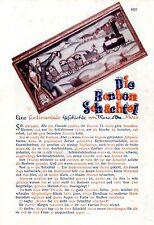 La caramella-SCATOLA. una storia sentimentale di Mme. D 'ora Parigi c.1930