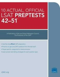 10 Actual Official Lsat Preptests Pdf