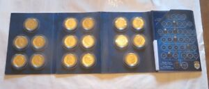 La-dynastie-royale-de-Belgique-en-16-medailles-plaquees-a-l-or-24-carats