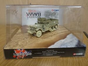Corgi Cc60402 M3a1 Half Track A Compagnie 17e bataillon du génie blindé 2e bras