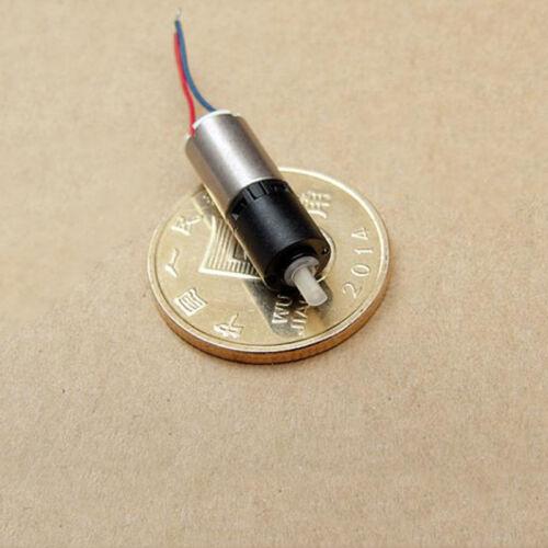 DC 3V 1200RPM Mini Tiny 6mm Coreless Planetary Gearbox Gear Motor DIY Car Robot