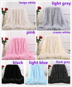 Large-Luxury-Warm-Soft-Bed-Sofa-Fluffy-Shaggy-Blanket-160-200-130-160CM