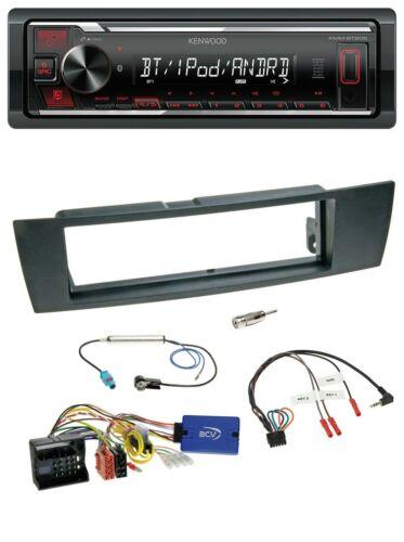Kenwood Bluetooth USB mp3 volante autoradio para bmw 1er e87 3er e90-3 x1 e84 z4