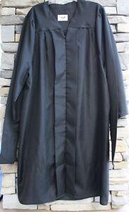 Jostens Masters Graduation Gown Robe Black Blue Few Generic Sizes ...