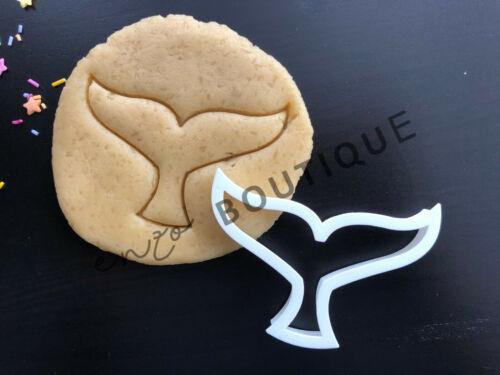 Whale Tail Cookie CutterFondant Décoration GâteauVendeur Britannique