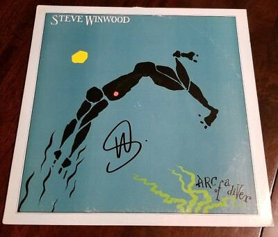 Entertainment Memorabilia Music Steady Steve Winwood Signed Arc Of A Diver Autographed Vinyl Album Cover Jsa/coa U23830 Without Return