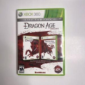 Dragon Age Origins Ultimate Edition (Microsoft Xbox 360 2010) Complete w/ Manual