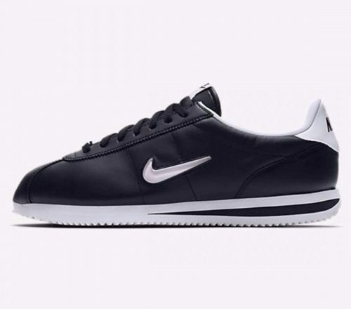 9 10 White Classic Nike Basic 8 11 002 833238 Jewel Cortez Uk Black vxp4ZP