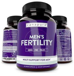 Zanapure Plant Based Men's Fertility Supplement For Optimal Sperm Count