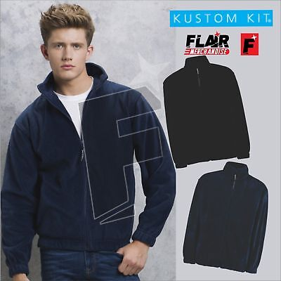 Kustom Kit Men's Grizzly Full Zip Active Fleece, Supplement Die Vitalenergie Und NäHren Yin