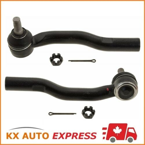2X Front Outer Steering Tie Rod End for Mazda CX-7 07-12 /& CX-9 07-14