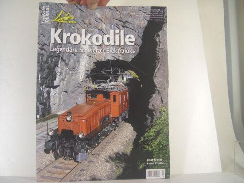 Berge Eisenbahn Journal Heft Krokodile Bahnen