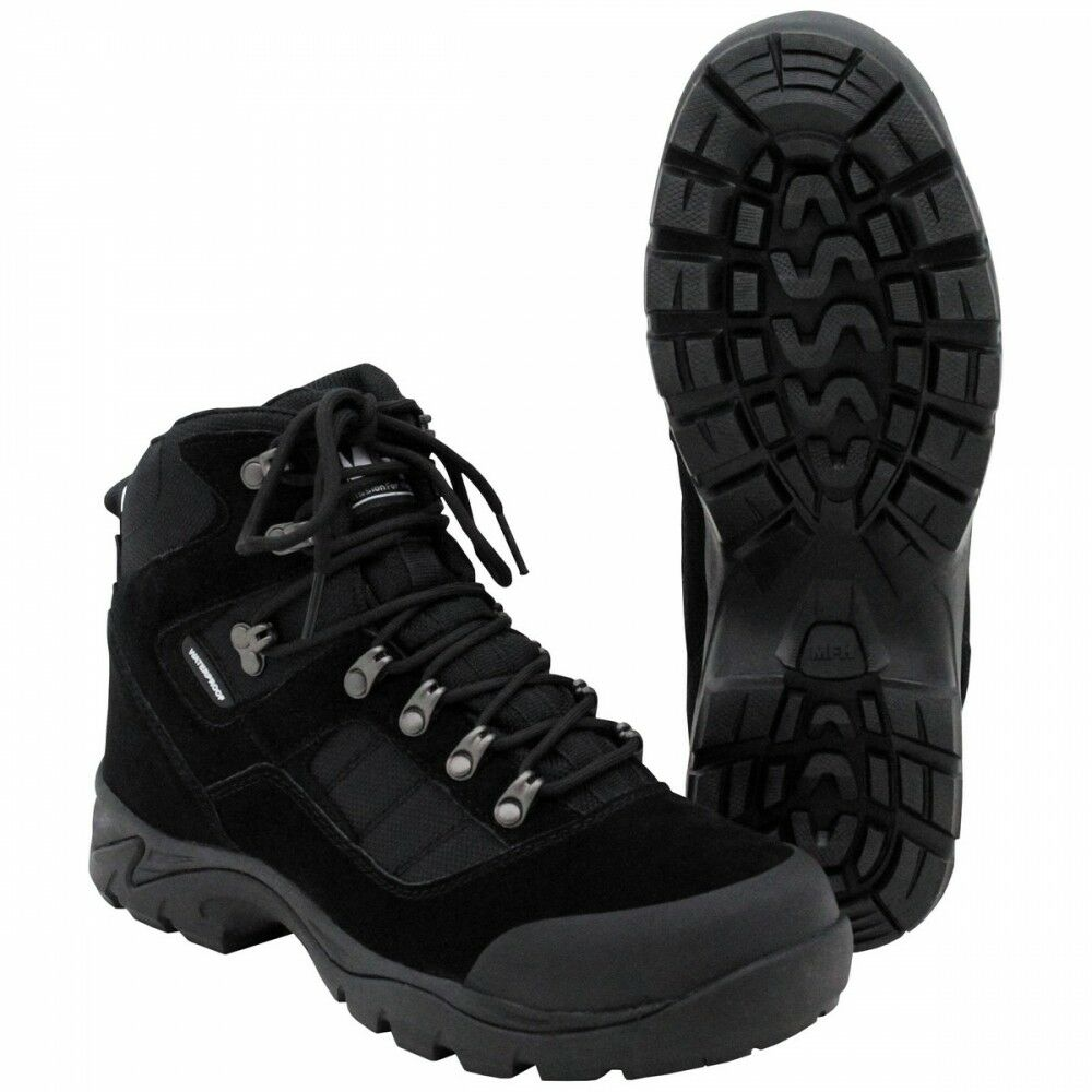 High Defence uso de botas negro Security zapatos botas outdoor impermeable