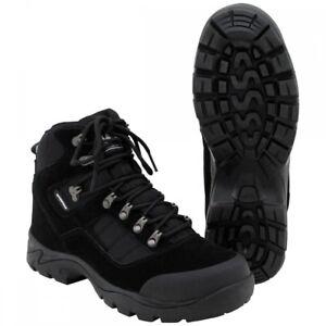 High-Defence-Einsatzstiefel-Security-schwarz-Schuhe-Stiefel-Outdoor-wasserdicht