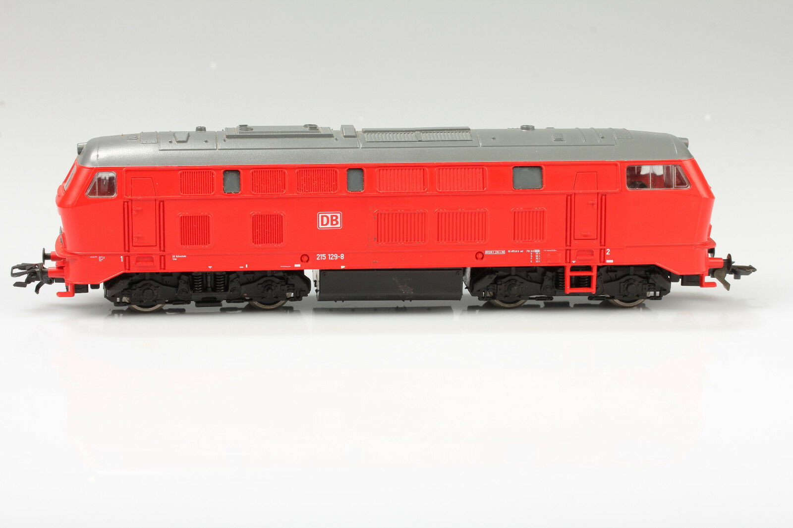 Roco h0 Diesel Locomotive DB BR 215 129-8 Running Light OK dirt scratches O. OVP