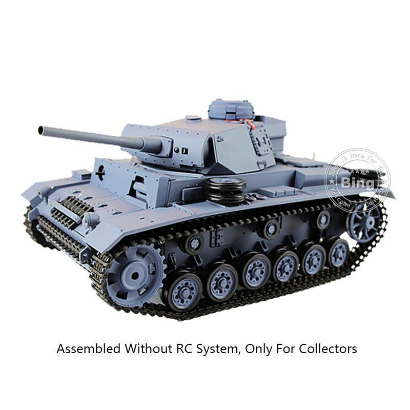 Henglong 1 16 3848 German Panther III L Static Plastic  Tank Model W O Electric