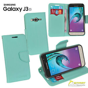 CL-Wallet-Flip-Card-Slot-Case-Cover-For-Samsung-Galaxy-J3-6-J3-2016